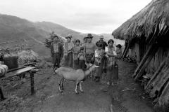 Guatemala, 1993. Family portrait, C.P.R. Sierra.
