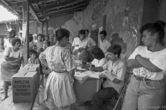 1994. Elections in Arcatao, one of the FMLN stronghold durind the 12 years civil war.