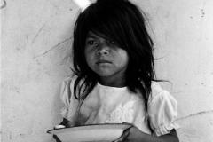 Cinquera, El Salvador, 1992. Girl .